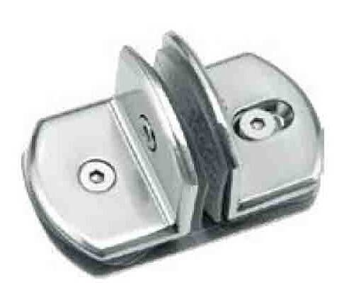 Condibe-1087 T type glass to glass fix clip for glass door