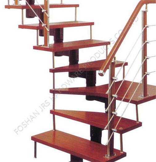 luxury special design aluminum spiral handrail