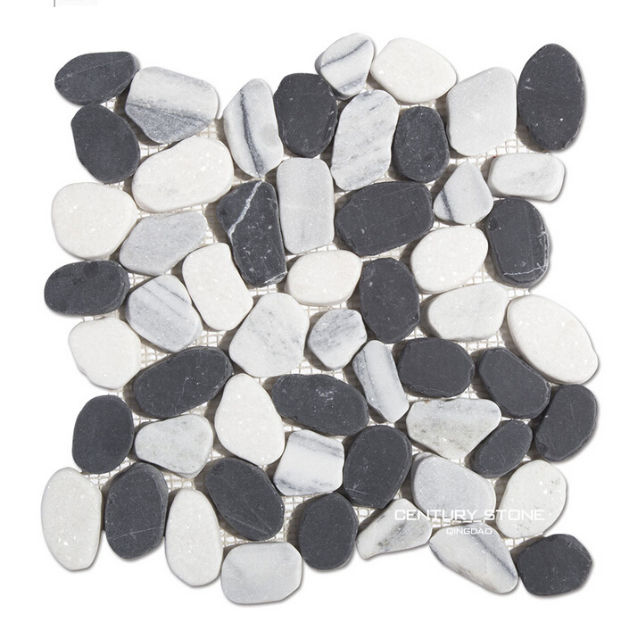 cheap white pebble stone for garden decoration