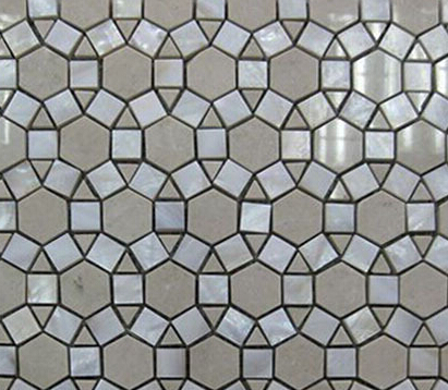 Cut sun flower marble mix glass mosaickitchen backsplash bathroom wall decorate tile