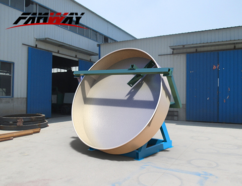 Disc Pan Fertilizer Granulator For Sale