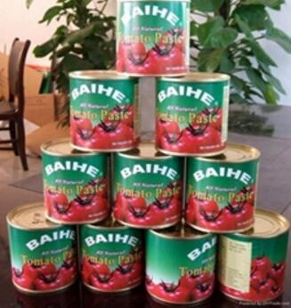 Tomato Ketchup tomato paste canned brix 28-30% tomato paste canned brix 28-30%