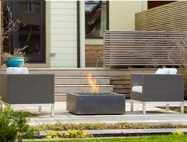 luxury ethanol outdoor fireplace for garden