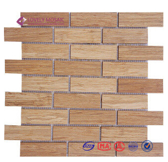 Popular Bamboo Mosaic Tiles High Quality Mosaic Tiles