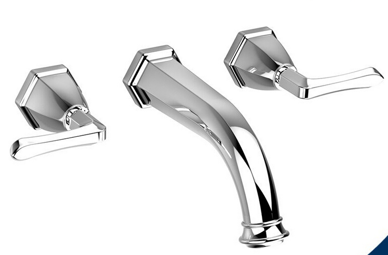 2 handle bathroom faucet cold and hot bath tub