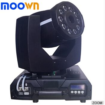 New style promotion rgbw 10*8w 1500w led moving head fog machine for stage