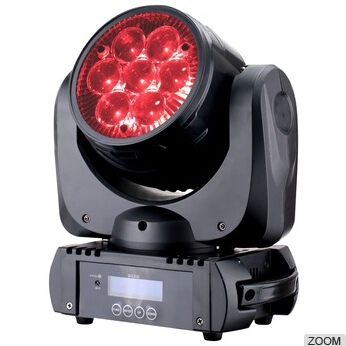 guangzhou best selling 7pcs*10w led 4 in 1 rgbw Moving Head Light mini stage light