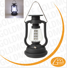 16 led solar camping lantern, hand crank tent light, rechargeable dynamo camping lamp