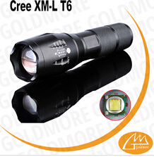 Aluminum Strong bright T6 led tactical flashlight,1000 luemn flashlights rechargeable
