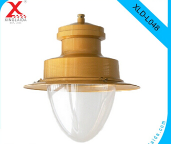 decorative traditional black with yellow 400w HPS street light with10m pole