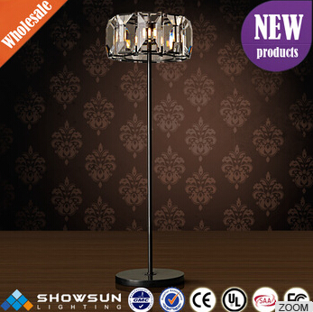 2016 new launched clear consice art lamp for small studio or hotel