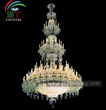 luxury big modern chandeliers lighting