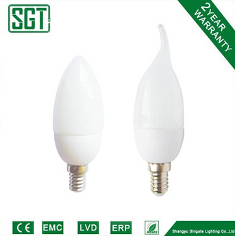 Energy saving lamp candle /candle tailed 7W 11W candle light bulbs