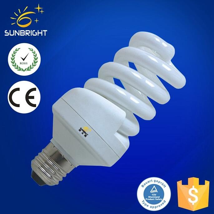 High quality Mini full spiral energy saving bulb T3 3w e14 made in China