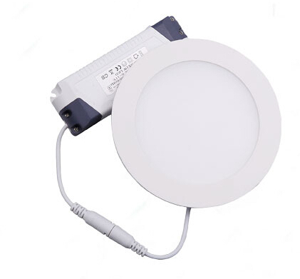 Super slim factory price 12w round led panel light indoor application