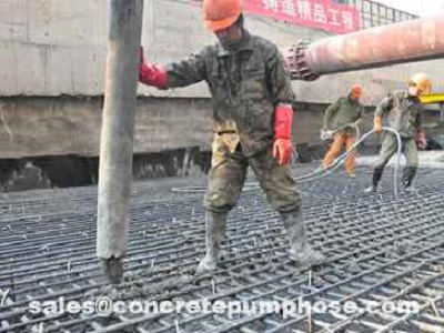 Steel Wire Reinforced Concrete Pump Hose