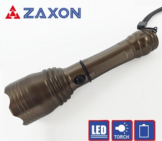 Camping police led Torch Flash Light Lamp, 18650 battery Aluminum flashlight