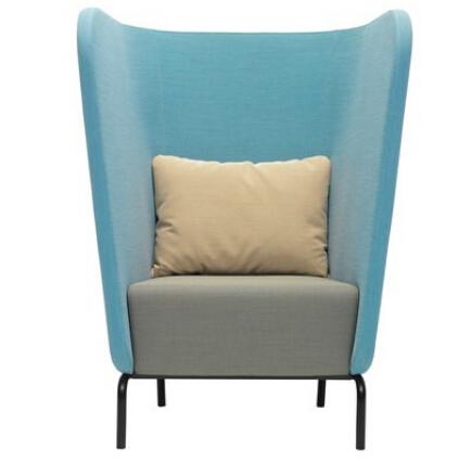 FX0019 elegant long back sofa chair/hotel furniture chair