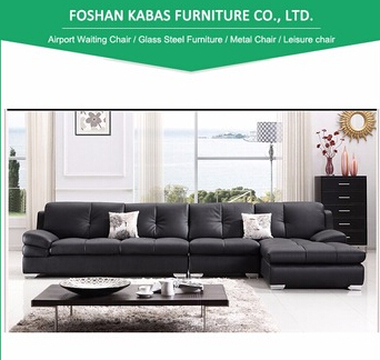 New corner couch design for living room/ Italian top quality couch / modern L shape sofa set
