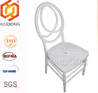 Use imported raw material PC Resin wedding Napoleon Chair
