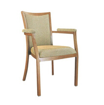Metal Western Armrest dining chair