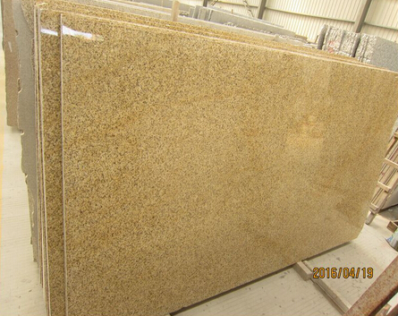 120*240*2CM Rusty Yellow Granite Slab