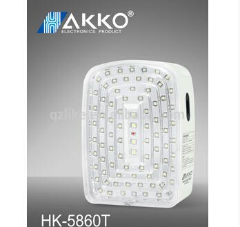 Professional Designed aluminum rechargeable portable emergency lamp