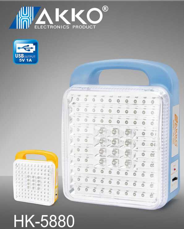 big rechargeable led lighting lamp