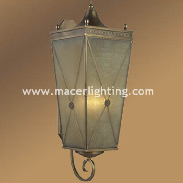 European antique brass wall lights