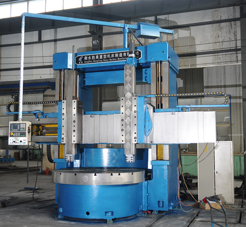 Double column vertical lathe VTL machine