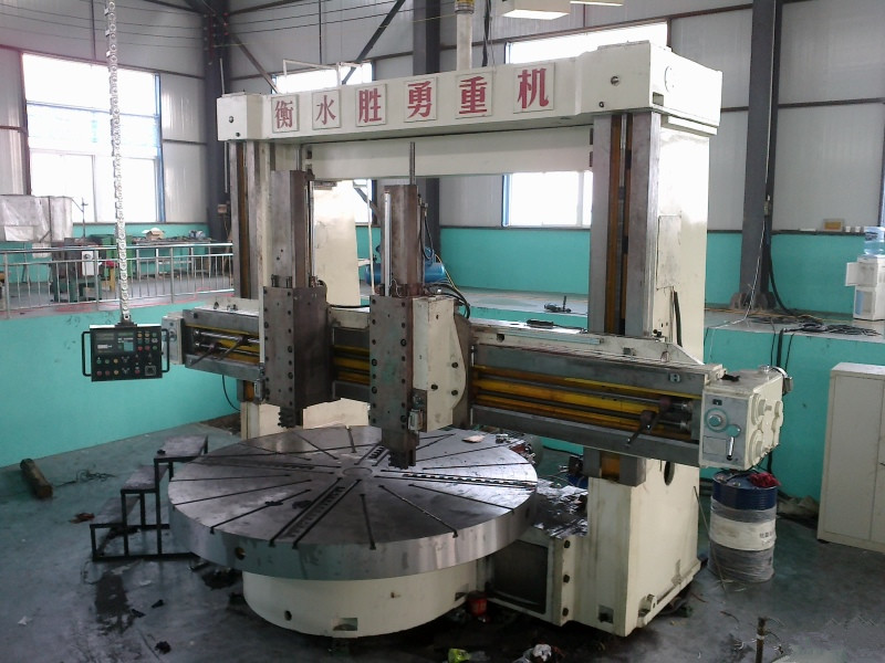 Used conventional vertical turning lathe VTL machine