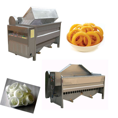Onion Ring Frying Machine