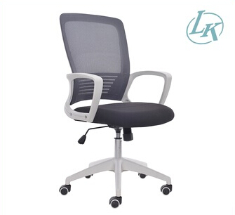Full Mesh Office Chair, White Plastic Mesh Chair,Swivel Conference Chair