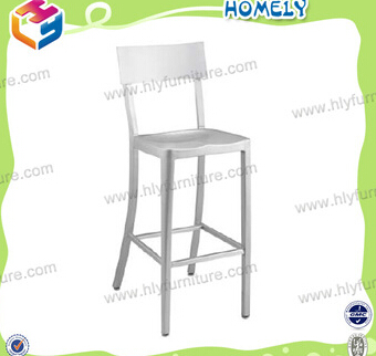 Cheap strong aluminum lexmod dining side chair for cafe