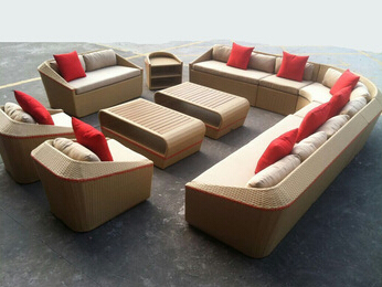 new arrival garden sofa furniture set, china wicker garden furniture, outdoor leisure garden furniture rattan