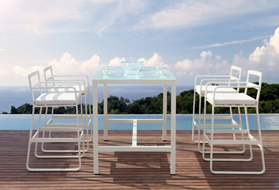 New rattan garden furniture outdoor furniture bar set