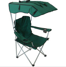 beach outdoor chair with sun shade