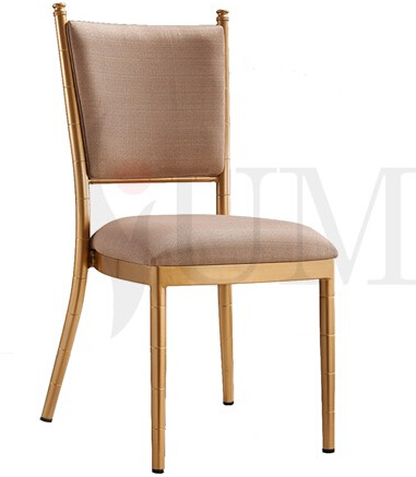 Wholesale popular stackable tiffany chairs, aluminum wedding chiavari chair