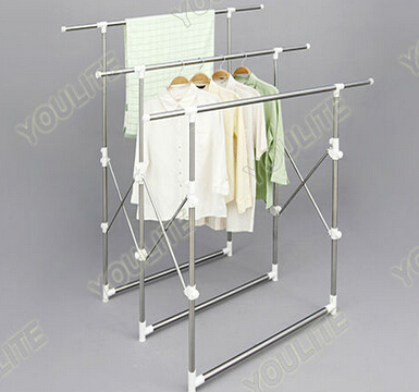 houseware indoor foldable clothes hanger