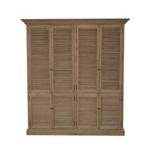 French Shutter Double Armoire HL716