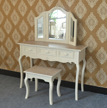 shabby chic furniture wooden dressing table designs makeup vanity