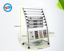 high quality steel magazine rack dubai