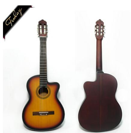 39'' FS-3925 Spruce Top best classical guitar handmade