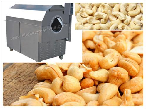 Cashew Kernel Roasting Machine