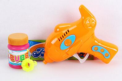 Hot Sale Friction Bubble Gun Summer bubble gun for kids