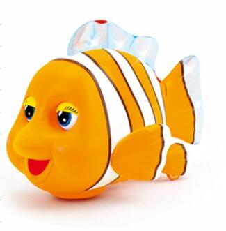 Huile Toys kid battery operated fish toys with music
