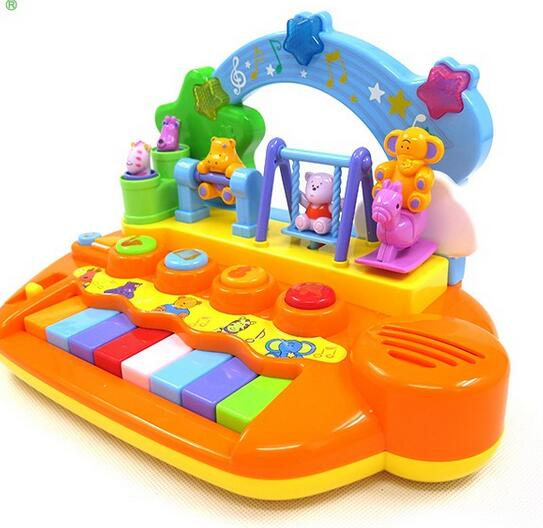 Education small baby musical instrument toys plastic toy piano for kids