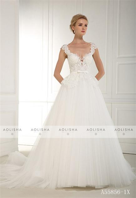 Wedding Dress A55856-1X