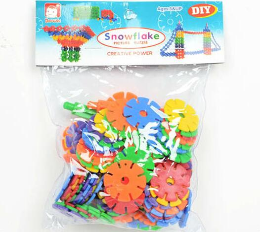 118PCS Plastic Material Educational Connecting Block Toy