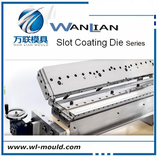 CPP/CPE/PP/PS/PE/HIPS/PC slot die coating die head for Plastic Coating Machine